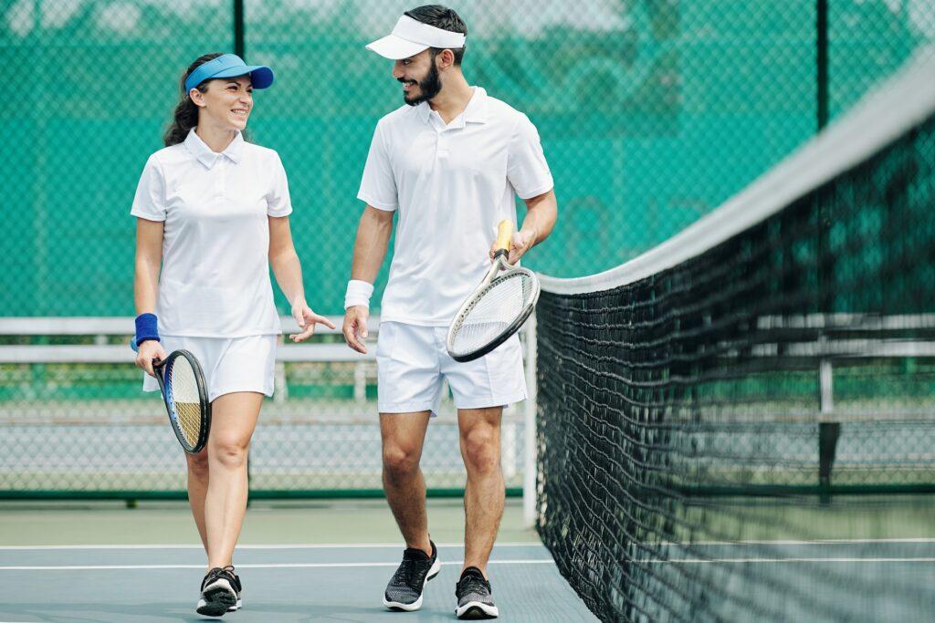 duel de tennis